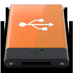 HDD Orange USB W
