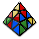 Mefferts Pyraminx Mixed
