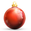 Red Bauble Icon