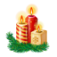 New Year Candles icon