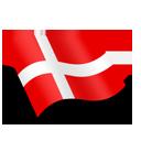 Danmark Denmark Flag-128