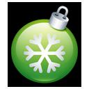 Christmas ball green-128