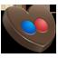 Flickr heart icon