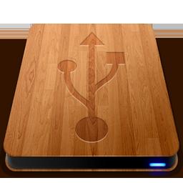 Wooden Slick Drives USB