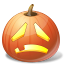 Sad Pumpkin icon