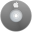 Apple Gray Icon