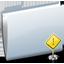 Folder Sign Stop Icon