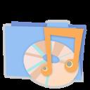 Blue folder music alt-128