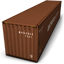 Brown Container icon
