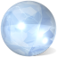 Crystal sphere Icon
