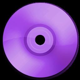 Cd DVD Purple