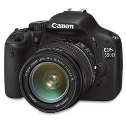 Canon 550D side
