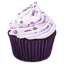 Purple Cupcake icon