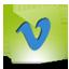 Vimeo green hover icon