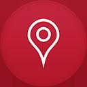 Maps flat circle-128