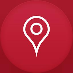 Maps flat circle
