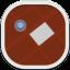 Maps Flat Round icon