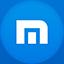 Maxthon flat circle icon