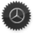 Mercedes Benz logo icon