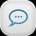 Messages Alt Light-128