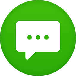 Messages flat circle