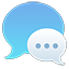 Messages iOS 7 alternative icon