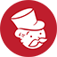 Monopoly red Icon