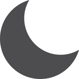 Moon Fill Vector Icon Download Iconic Icons Iconspedia