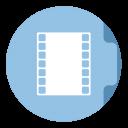 Movie Folder Circle-128