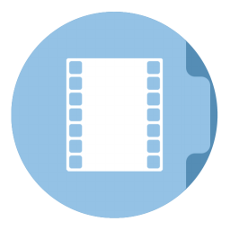 Movie Folder Circle