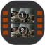 Movie Studio Flat Mobile Icon