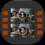 Movie Studio Flat Mobile icon