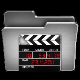 Movies Steel Folder