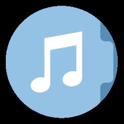 Music Folder Circle