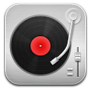Music Record Player Red