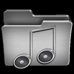 Music Steel Folder