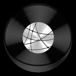 Network Black Drive Circle