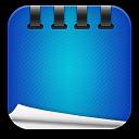 Notepad Blue