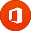 Office 2013 flat circle icon