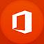 Office 2013 flat circle icon