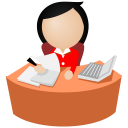 Office Women Red Default-128