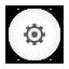 Options white round icon
