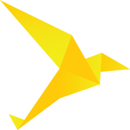 Origami Bird Yellow
