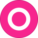 Orkut Round With Border-128
