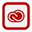 Outline Creative Cloud icon