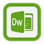 Outline Dreamweaver icon