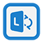 Outline Lync icon