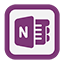 Outline One Note Icon