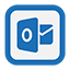 Outline Outlook Web icon