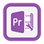 Outline Premiere Pro icon